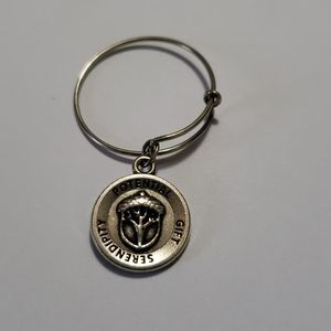 Alex and Ani expandable charm ring